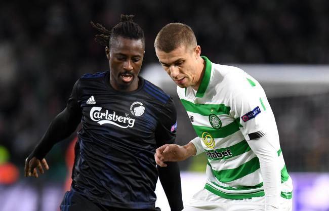 Jozo Simunovic had a night to forget in defence for Celtic.