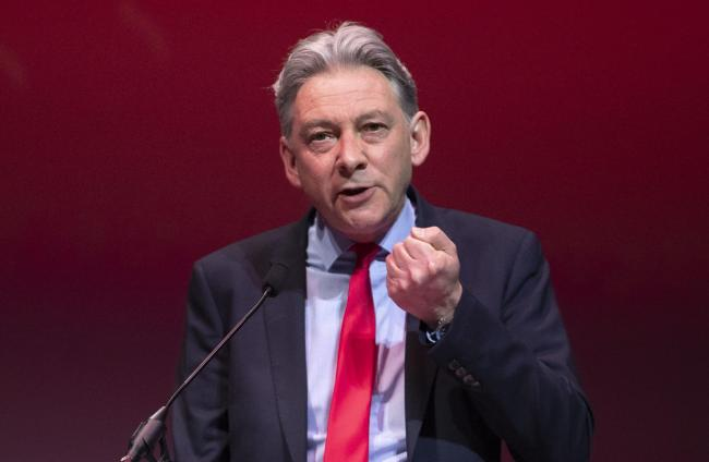 Richard Leonard has claimed the SNP's Sustainable Growth Commission report proposes a decade of austerity