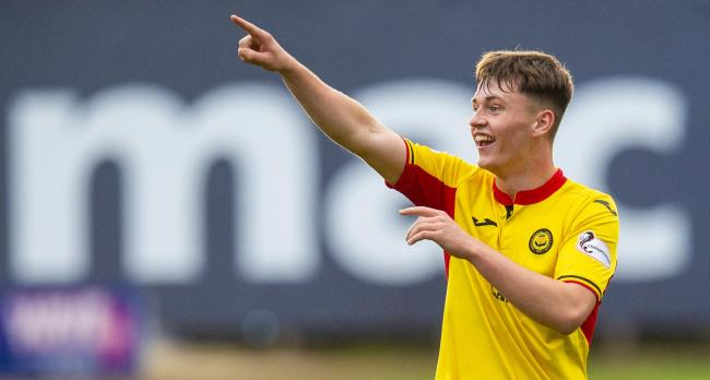 Partick Thistle left-back James Penrice