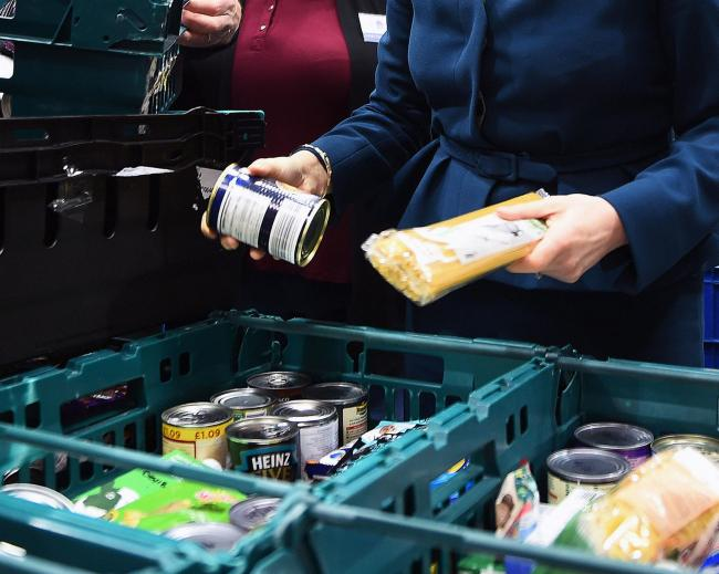 Food banks have been mushrooming  in communities that are susceptible to the spread of the Multidep-01 virus