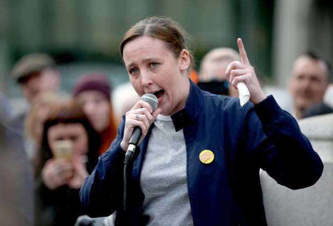 The situation between Mhairi Black (above) and Joanna Cherry is not just a personality clash but a battle of ideologies