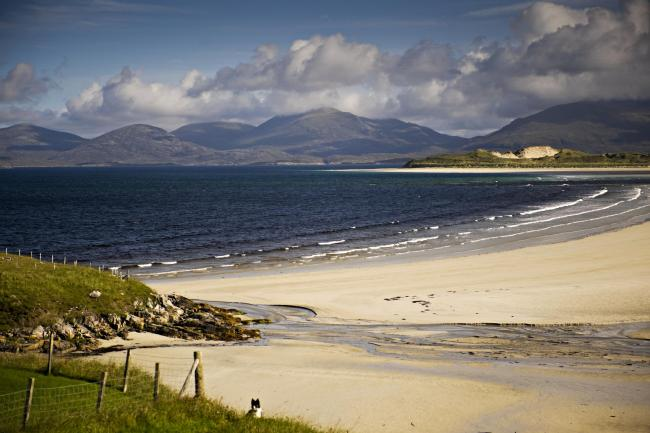 Around 40% of the houses on the Outer Hebridean island of West Harris are holiday homes or lets