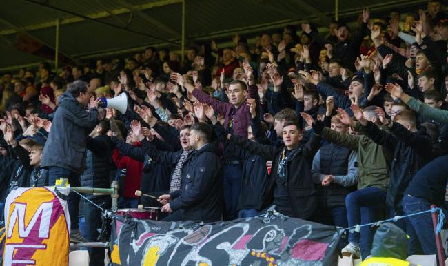 The Motherwell Bois have helped create an atmosphere at games