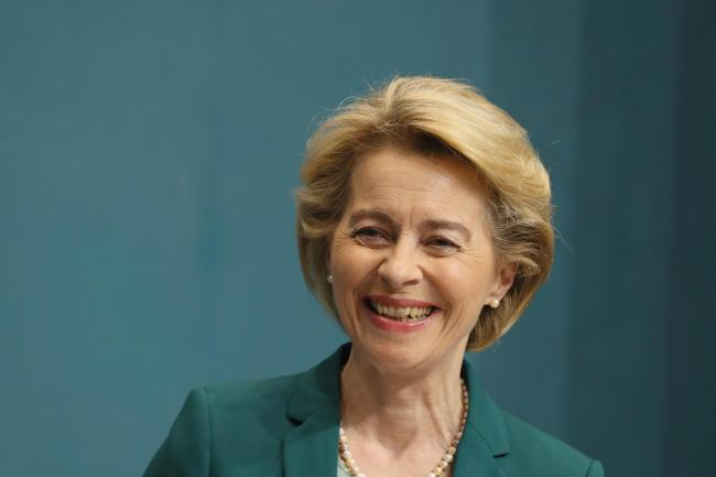 EU Commission president Ursula Von Der Leyen said 'any European state, which respects and promotes the values of the EU' can apply