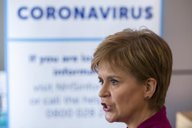Nicola Sturgeon urged people to behave responsibly