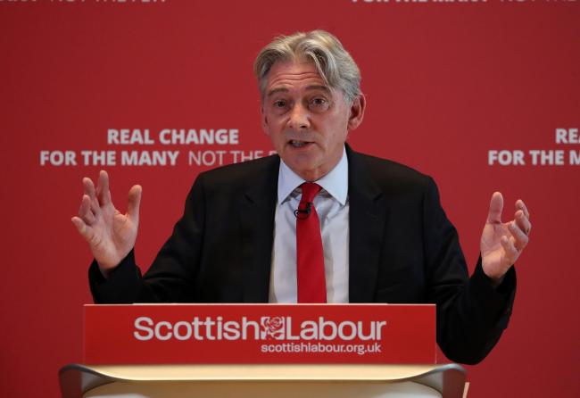 Richard Leonard's party's petition demands all evictions should be banned during the crisis