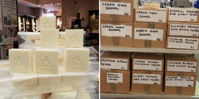 'We all have to do our bit': Island firm gifts 15,000 bars of soap to residents amid coronavirus pandemic
