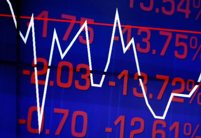 Stock markets have fallen as a result of the coronavirus crisis