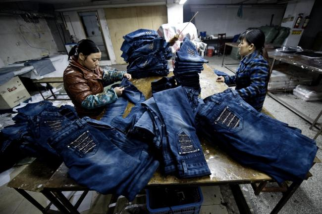 Cheap, throwaway clothes for those of us in the west are made in sweat shop factories elsewhere in the world