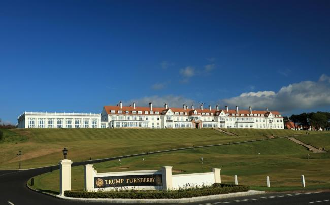 Around 100 golfers took part in the Turnberry Twosomes on Friday and Saturday
