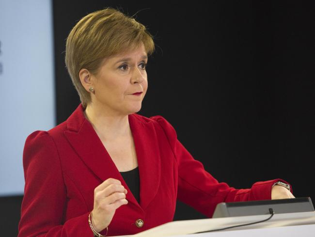 First Minister Nicola Sturgeon held a media briefing on Covid-19 yesterday at St Andrew's House, Edinburgh