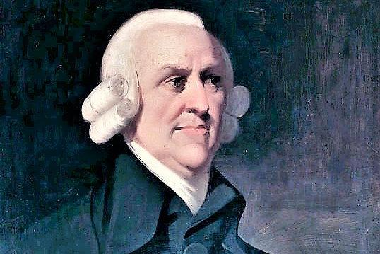 There are individuals today who do have the wealth of nations, but not in the way Adam Smith described