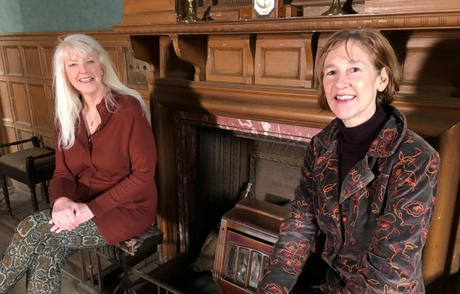 National columnist Lesley Riddoch and historian Fiona Watson are taking part in the project