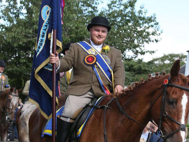 Lauder Common Riding was cancelled on Monday