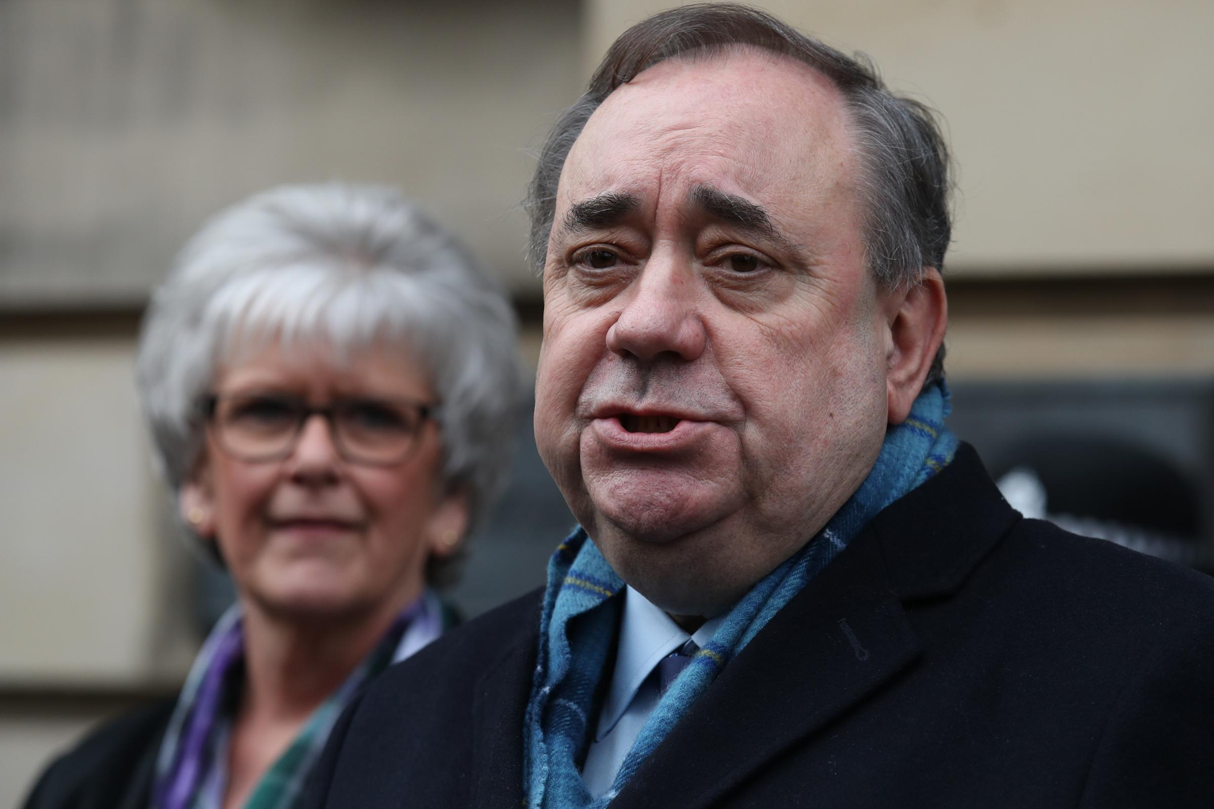 Alex Salmond's lawyer refers himself to complaints body over video
