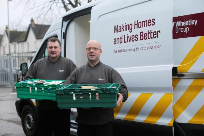 The Wheatley Group is extending its Eat Well service, which provides emergency food parcels