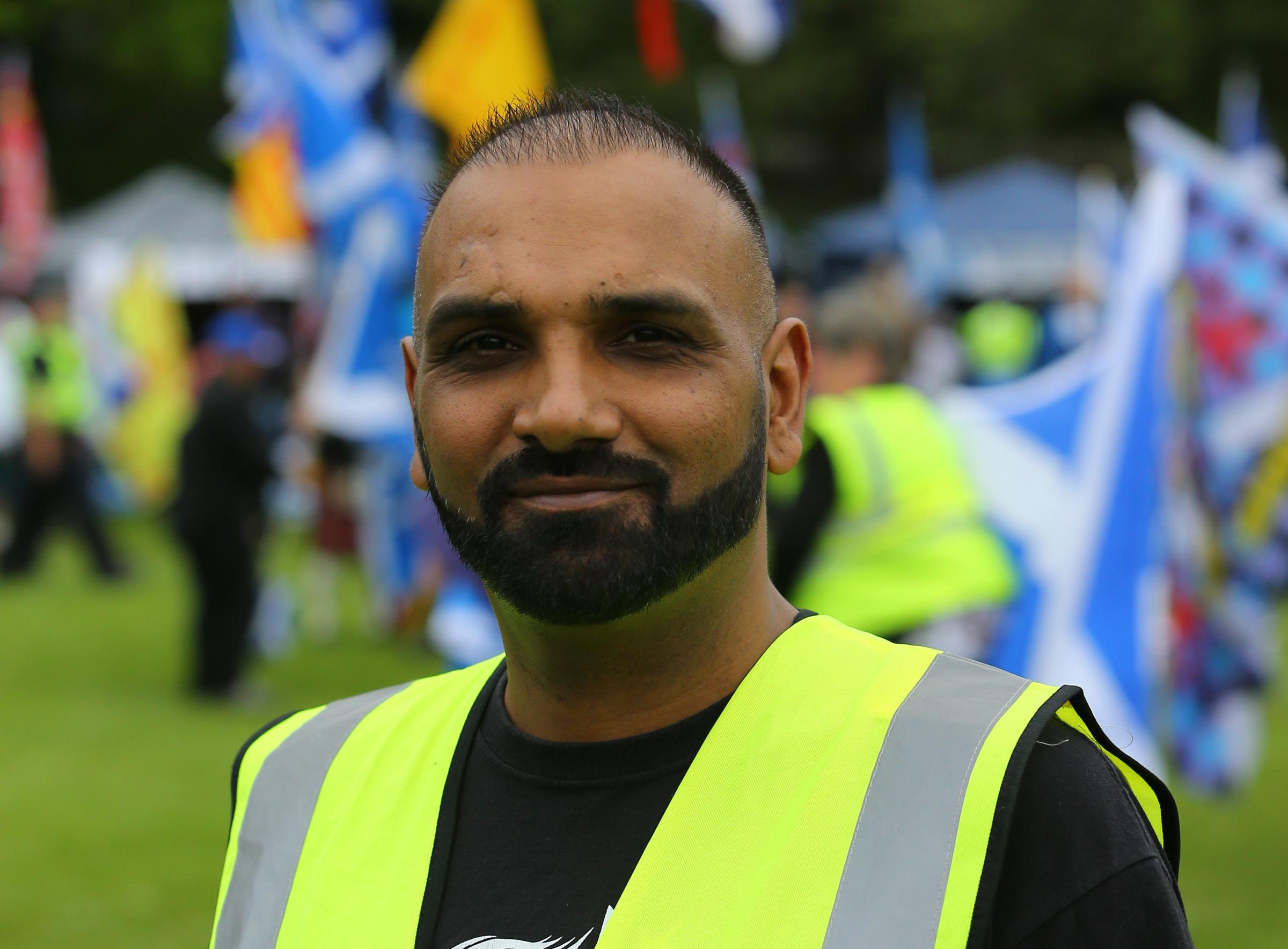 Scottish independence Glasgow march organiser Manny Singh to be sentenced