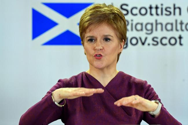 Nicola Sturgeon has warned the whole of Scotland faces being moved to level 4 if people do not comply with a new legal travel ban
