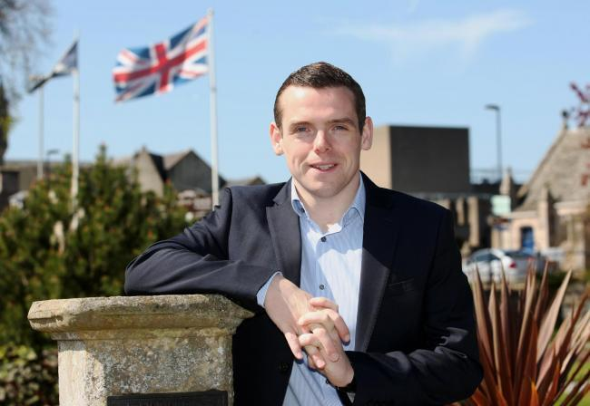 Douglas Ross said he would be willing to work with anyone to get Tory policies enacted