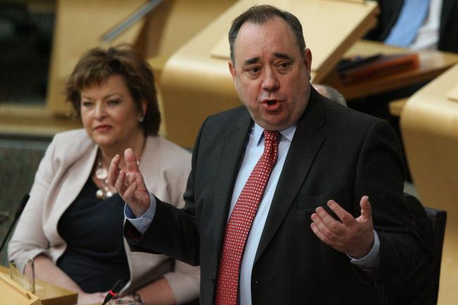 Alex Salmond resigned from the party to avoid internal division
