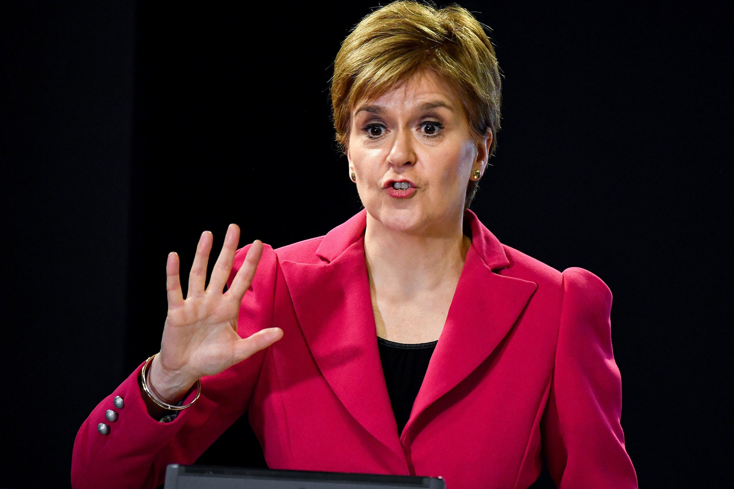 WATCH: First Minister accidentally drops F-bomb at daily briefing