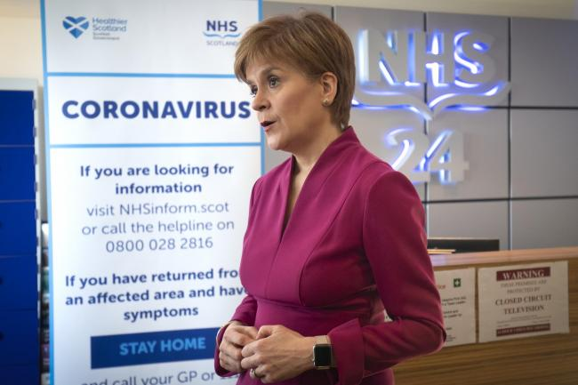 74% of respondents believed Nicola Sturgeon has handled the pandemic well, compared to 19% who said Boris Johnson had handled it well