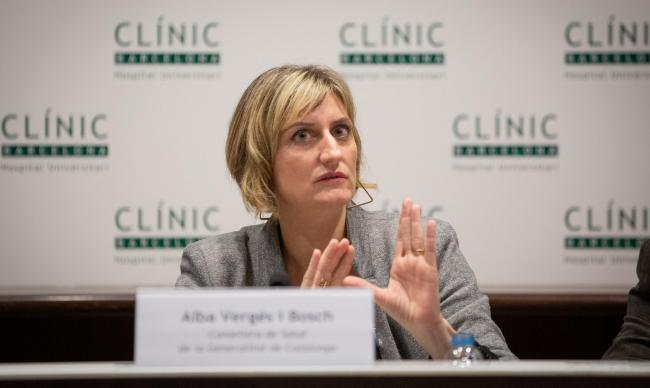 Alba Verges, Catalonia's Health Minister, said this week could be a decisive one