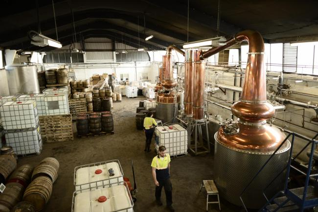 Glasgow Distillery picked up the ultimate award of the competition