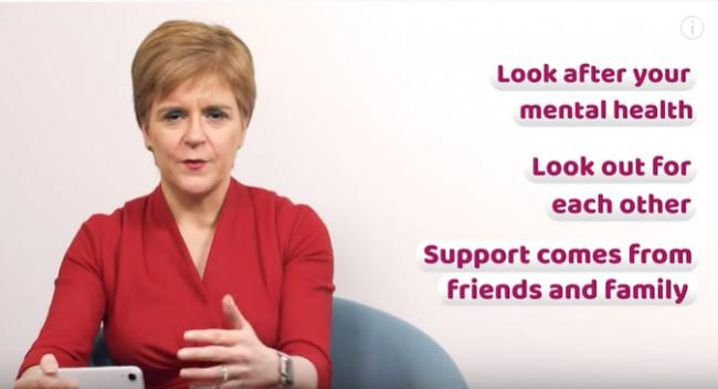 Nicola Sturgeon responded to questions from young people about the pandemic
