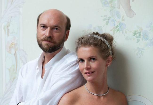 Sergei Pugachev and Alexandra Tolstoy in The Countess and The Russian Billionaire