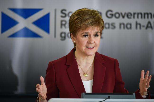 Nicola Sturgeon has said she feels 'scunnered' by the restrictions to prevent the spread of the virus