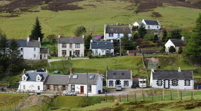 The Dumfries and Galloway village of Wanlockhead