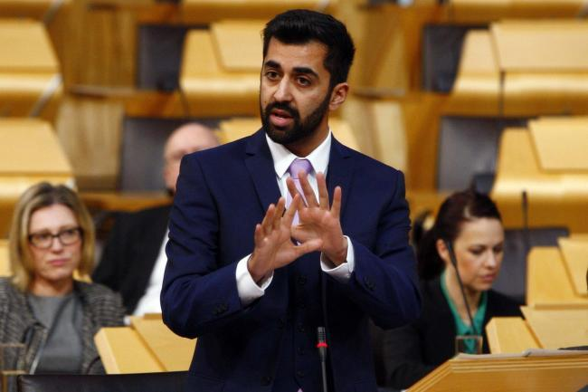Justice Secretary Humza Yousaf says there will be a 'triple lock' set of restrictions on prison releases