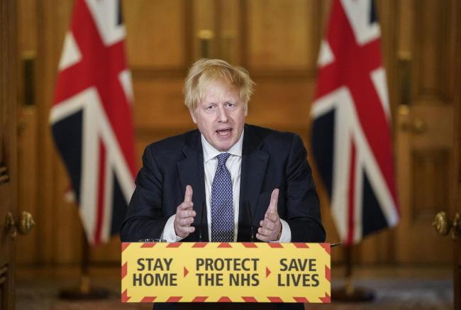 Boris Johnson said it was too early to compare the UK death rate to other nations