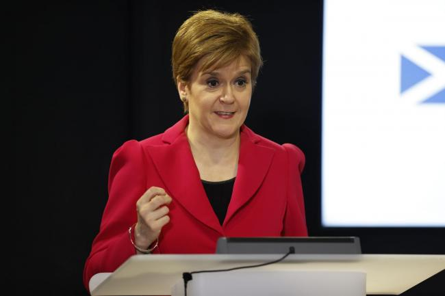 Just over seven out of 10 of Scots said they had confidence in First Minister Nicola Sturgeon