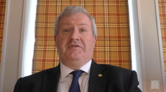 Ian Blackford called for scientific arguments rather than political ones