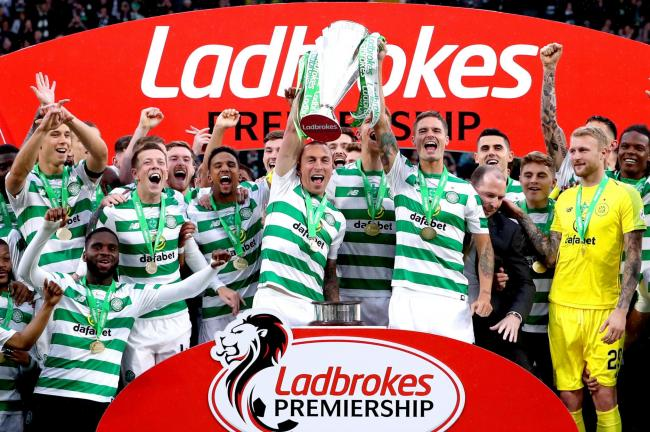 There was to be no trophy celebrations this week for Celtic, but Scott Brown has already set his sights on next season's title.