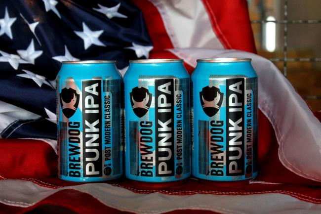 BrewDog says it is known for being critical of the US president