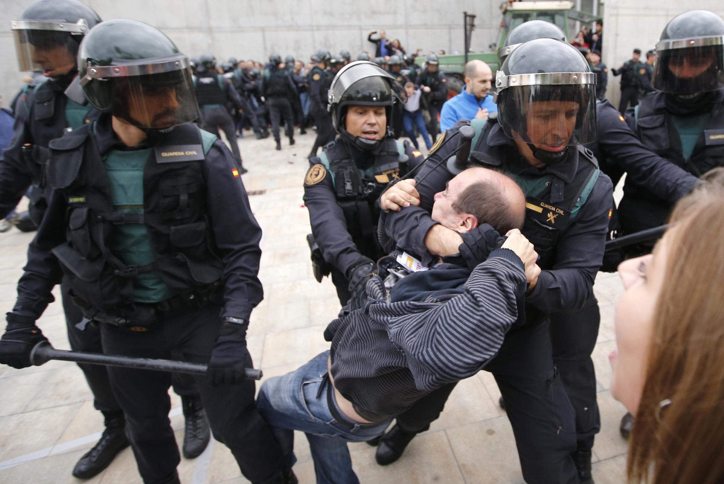 Catalan police rewarded £18m for independence referendum
