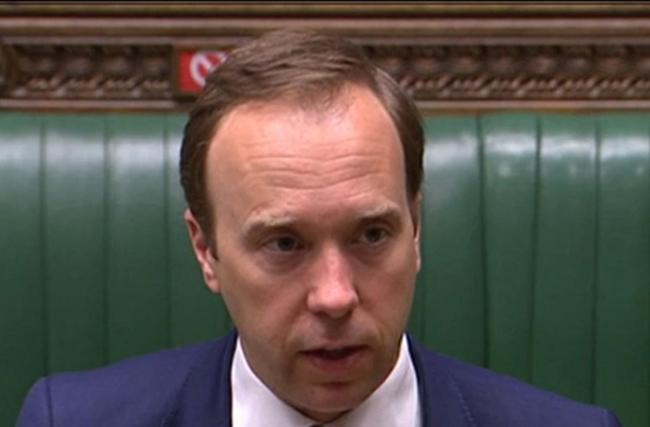 Matt Hancock said the UK had arranged supplies for the devolved nations