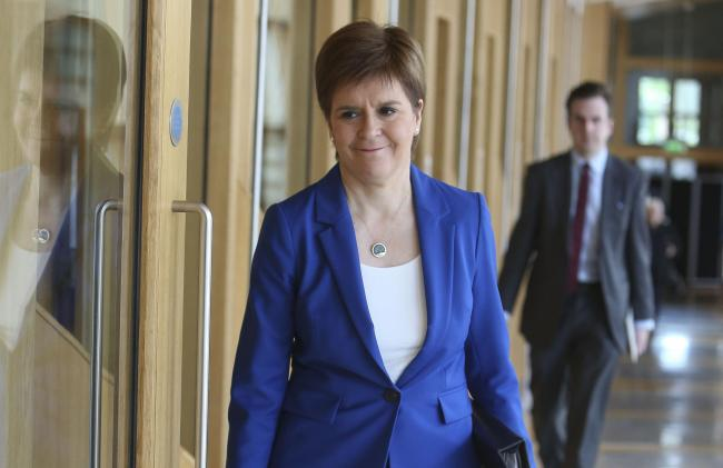 Nicola Sturgeon warned it would be 'a mistake' to give definite dates for each stage