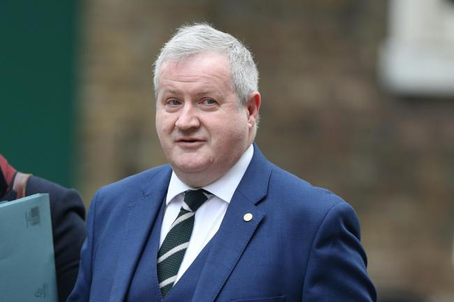 Ian Blackford called on the UK Government to scrap charges in hospital car parks, pointing out that the Scottish Government had done so 12 years previously