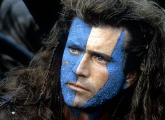 Why all the complaints about Mel Gibson playing William Wallace, but none about fellow Aussie Errol Flynn's many roles?