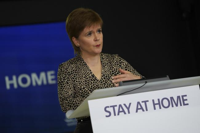 Nicola Sturgeon said those who break the rules risk 'potentially dying'