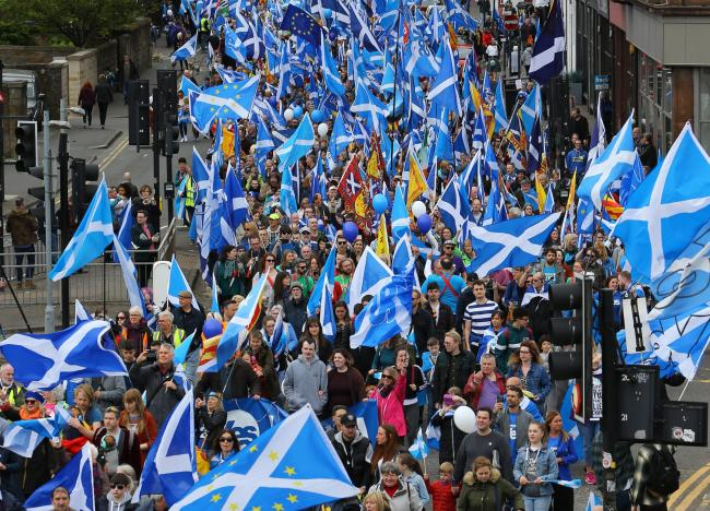 A clear majority of Scots think making an outright promise of independence on the ballot paper is a good idea