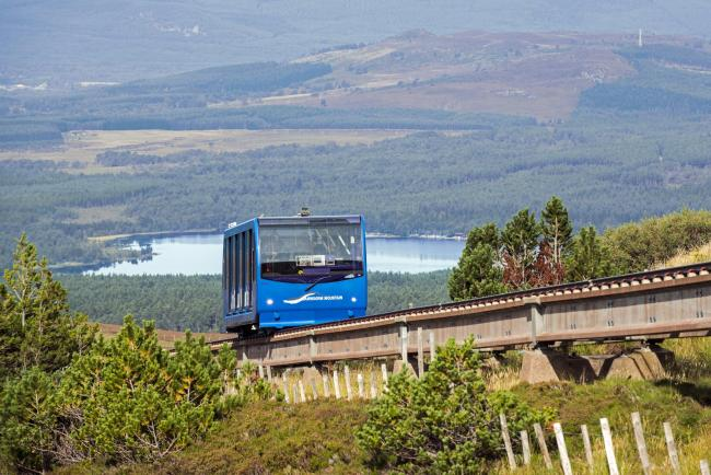The funicular which will cost millions to remove