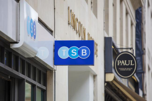 Enrolments for TSB's internet banking service has risen by over 137%