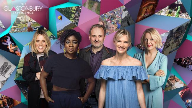 Edith Bowman, Clara Amfo, Mark Radcliffe, Jo Whiley, and Lauren Laverne dive into Glastonbury festivals past