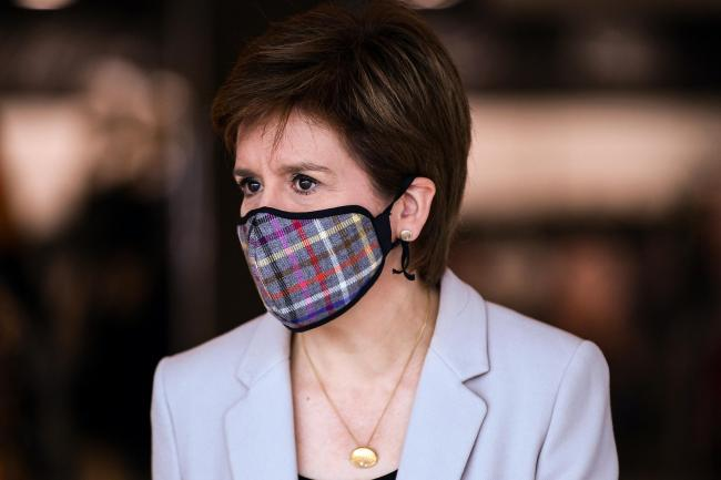 Nicola Sturgeon's slow and cautious strategy is taking Scotland toward Covid-19 elimination, the professor said