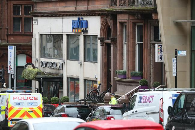 Six people were injured during a stabbing attack at the Park Inn Hotel, Glasgow
